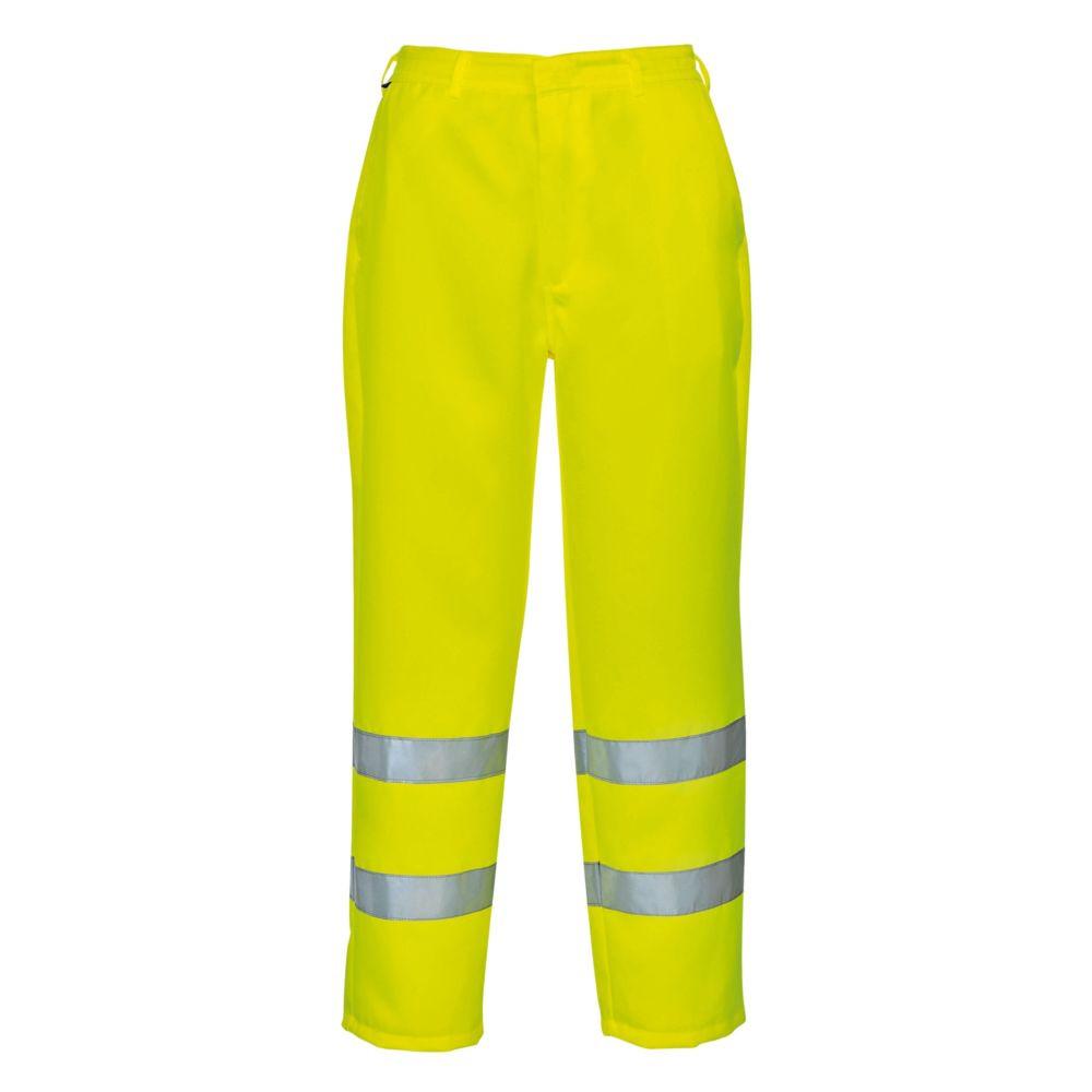 Pantalon haute visibilité Portwest Polycoton - Jaune