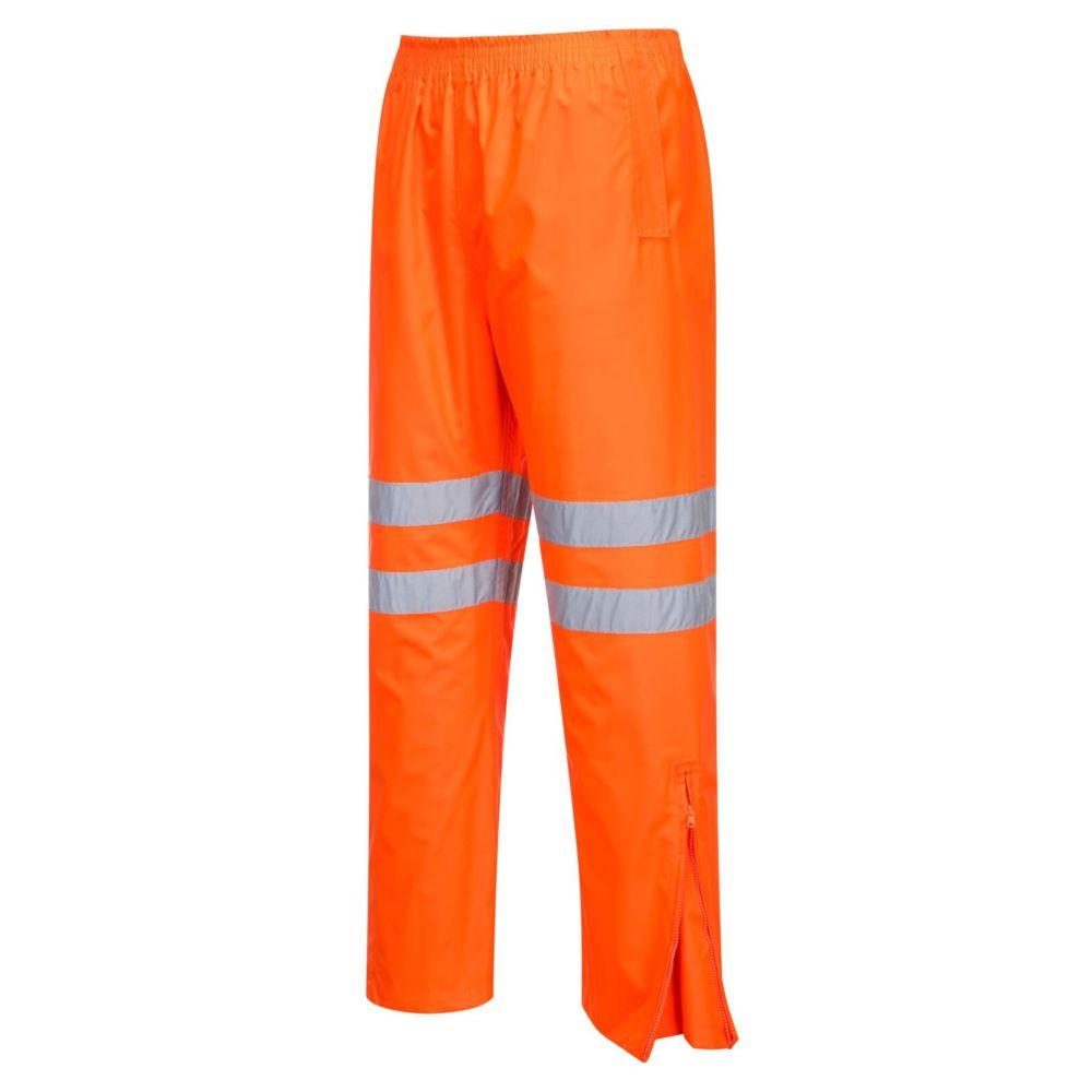 Pantalon imperméable haute visibilité Portwest Traffic GO/RT - Orange