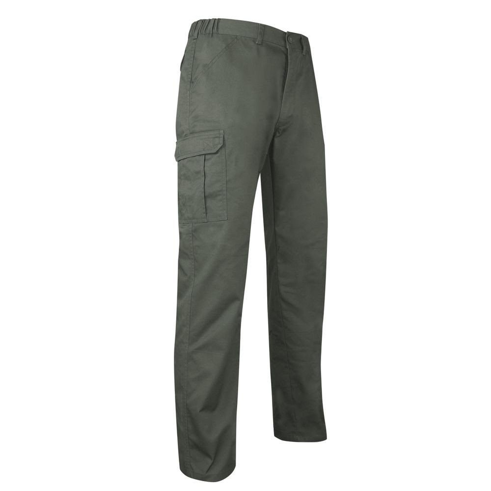 Pantalon multipoches LMA Becasse - Kaki