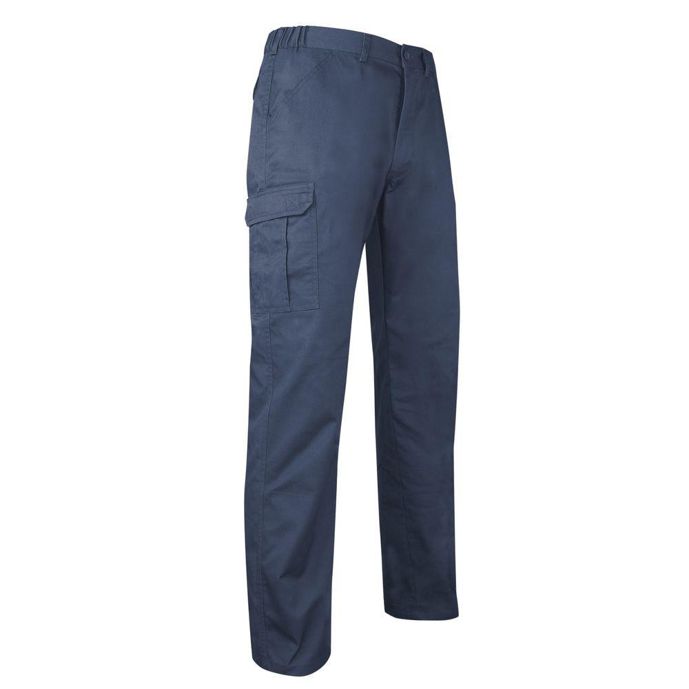 Pantalon multipoches LMA Tantale - Bleu Foncé
