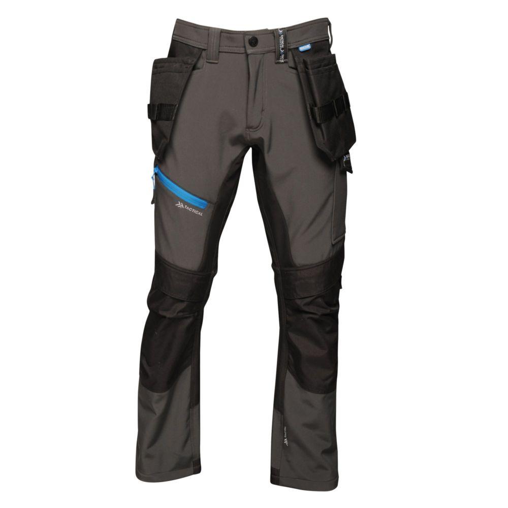 Pantalon de travail Regatta Professional STRATEGIC SOFTSHELL - Gris