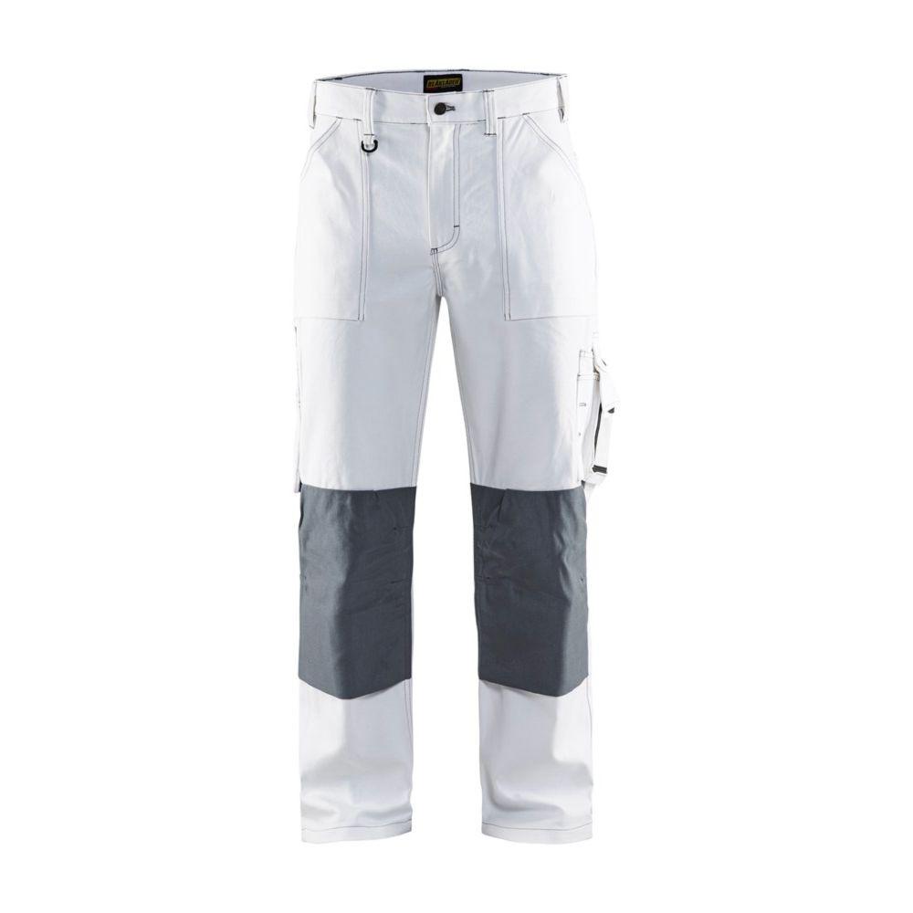 Pantalon de peintre Blaklader 100% coton - Blanc