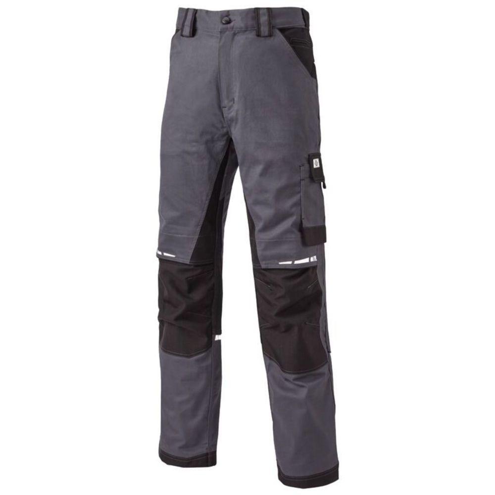Pantalon de travail Dickies Grafter Duo Tone Premium Trousers - Gris / Noir