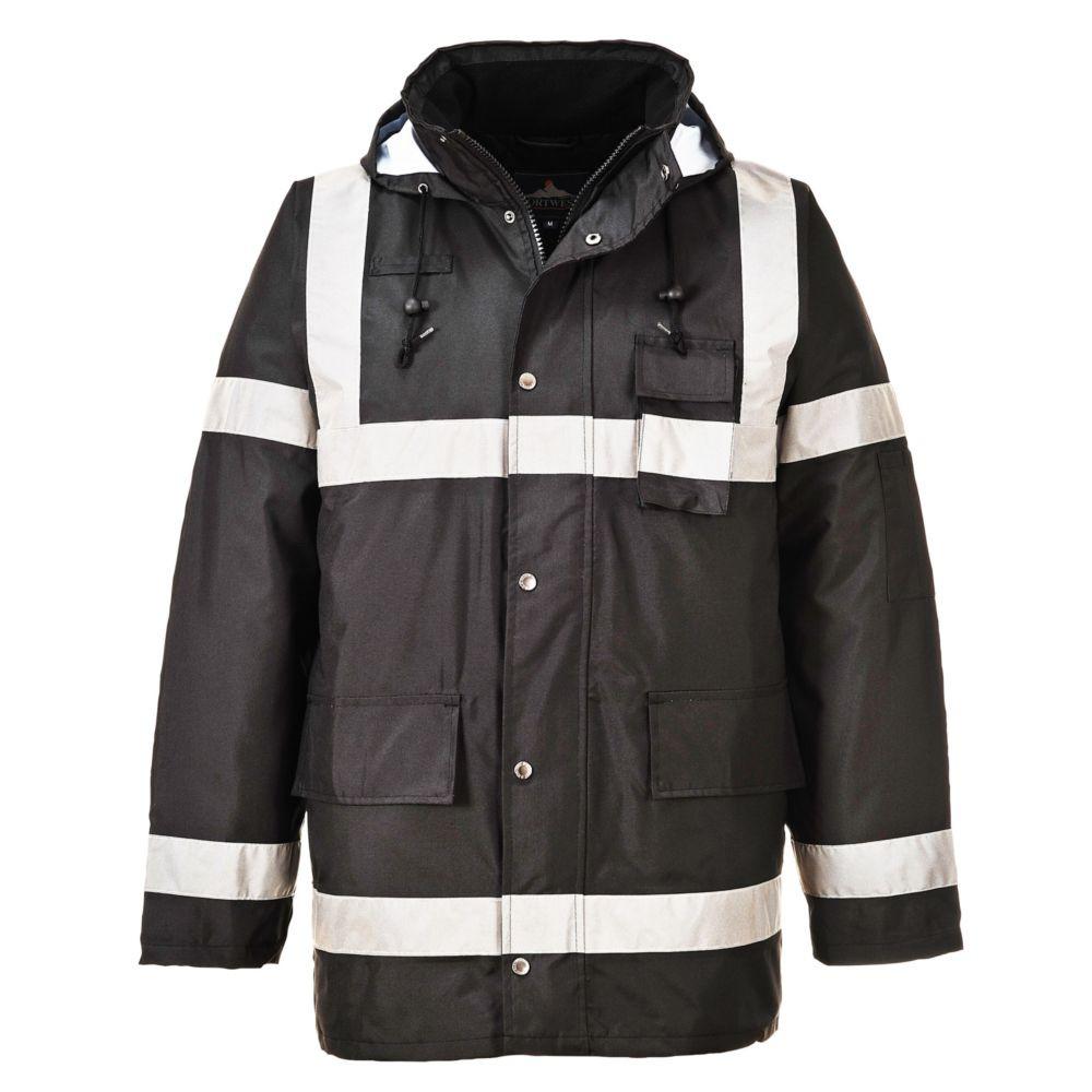 Parka froid et pluie Portwest IONA LITE - Noir