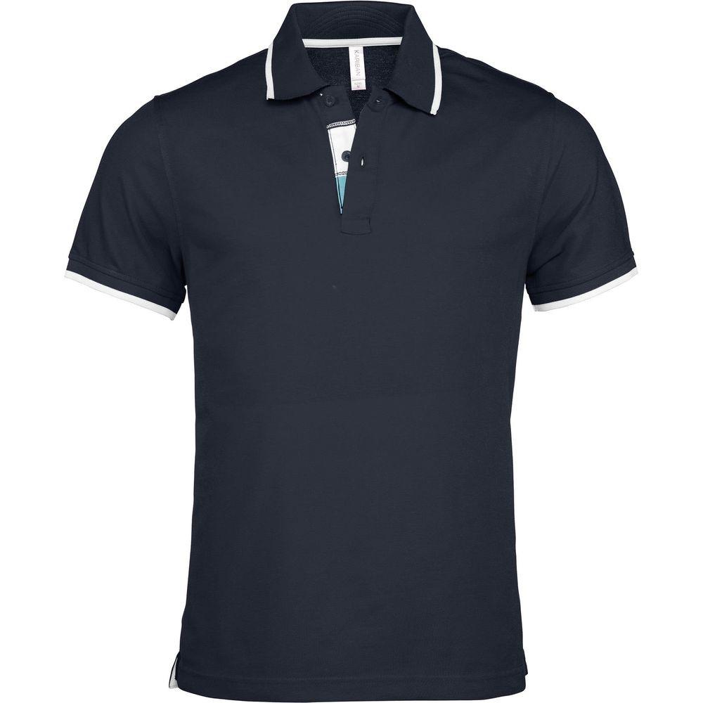 Polo de travail manches courtes Kariban 100% coton - Polo de travail manches courtes Kariban Bleu marine