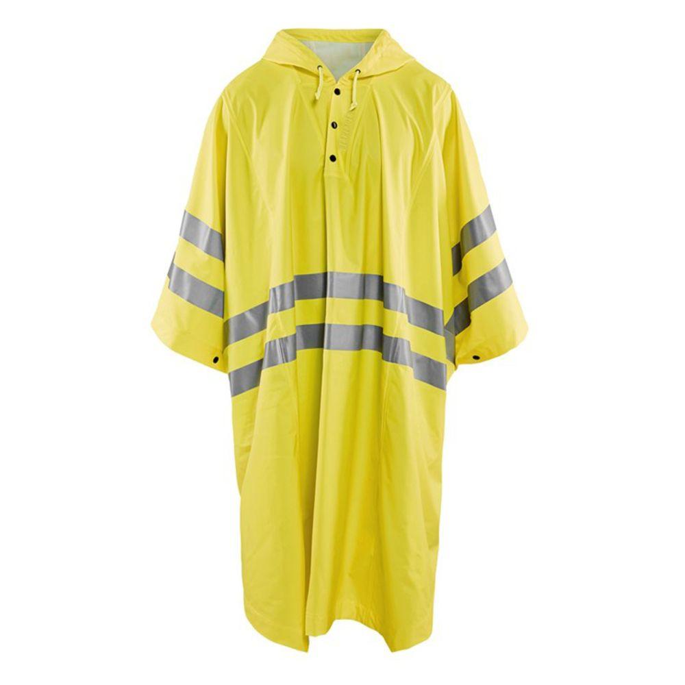Poncho de pluie haute visibilité Blaklader NIVEAU 1 - Jaune Fluo