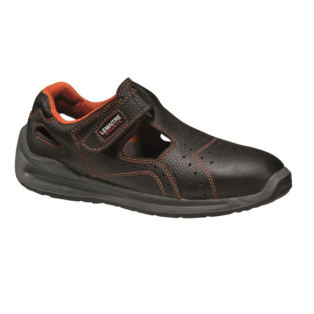 Sandale de sécurité Lemaitre SPRINTER BLACK S1 SRC - Noir