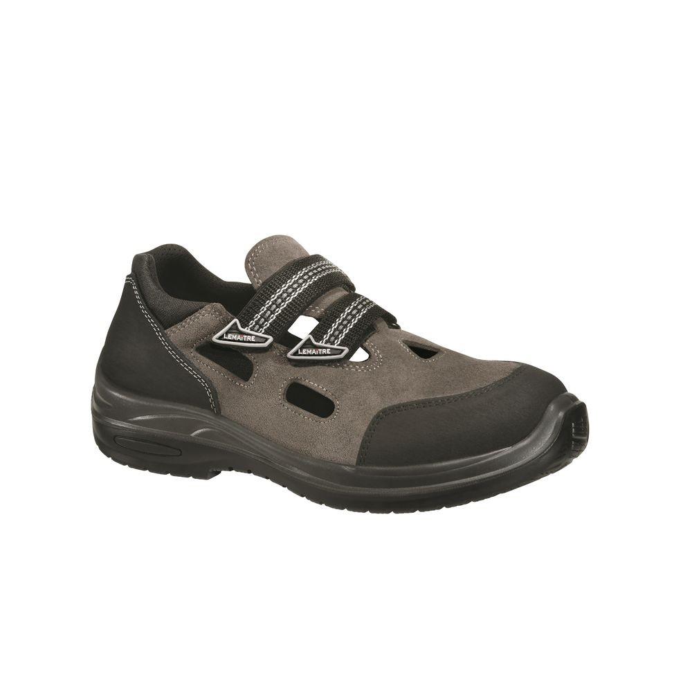 Sandales de sécurité Lemaitre Spitfire S1P SRC 100% non métalliques - Sandales de sécurité Lemaitre Spitfire S1P SRC grises