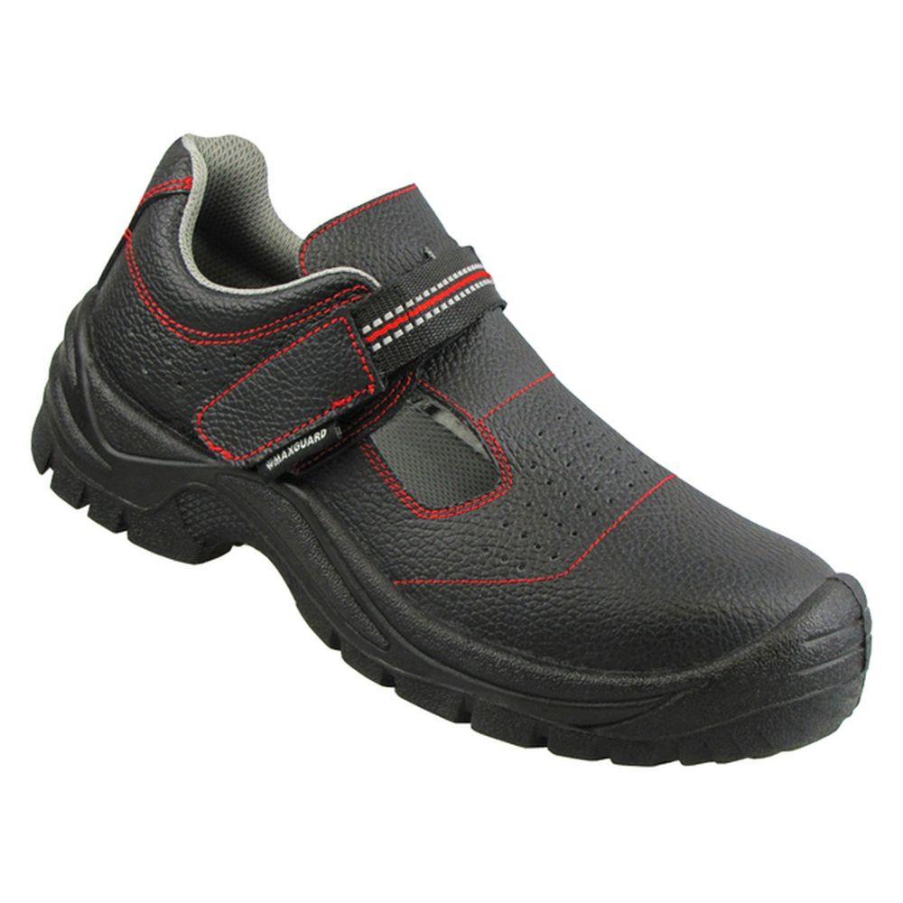 Sandales de sécurité Maxguard ALEX S1P - Noir