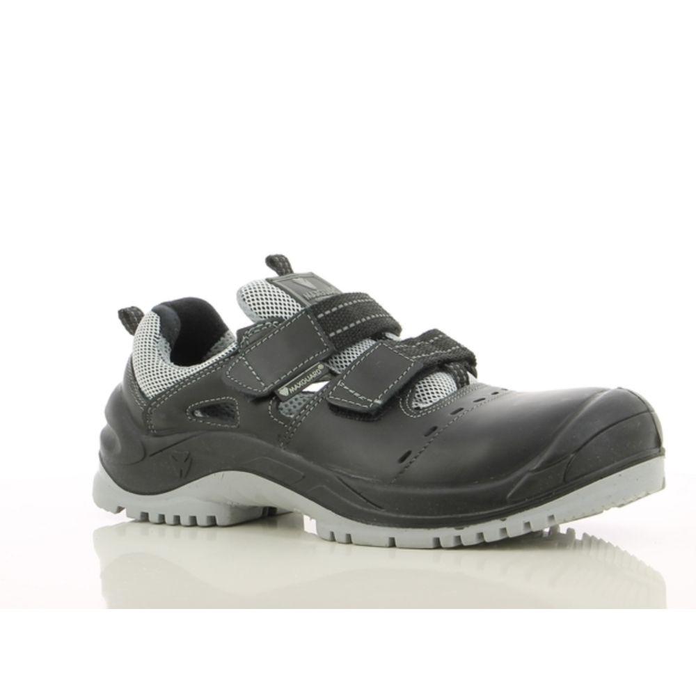 Sandales de sécurité Maxguard ELLIOT E120 S1P SRC ESD - Noir