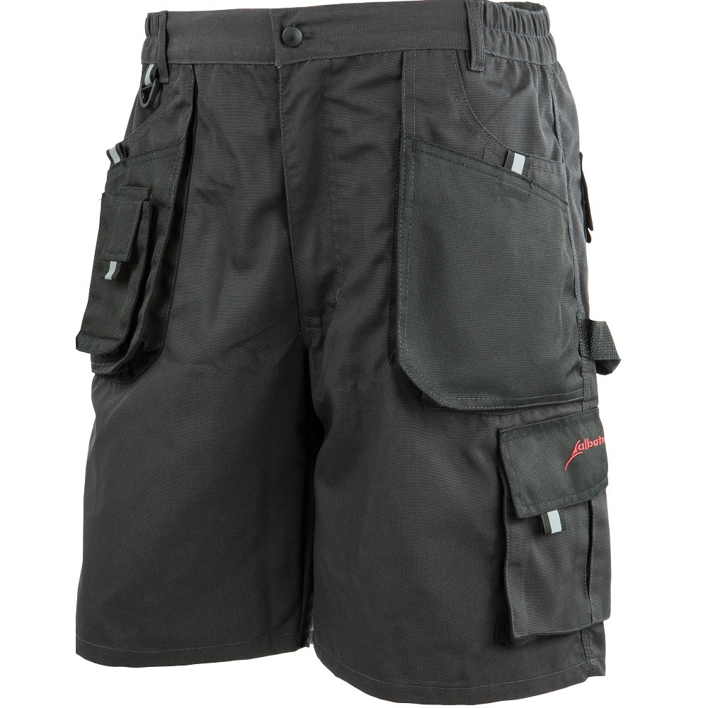 Short de travail Albatros ALLROUND BLACK - Noir / Gris