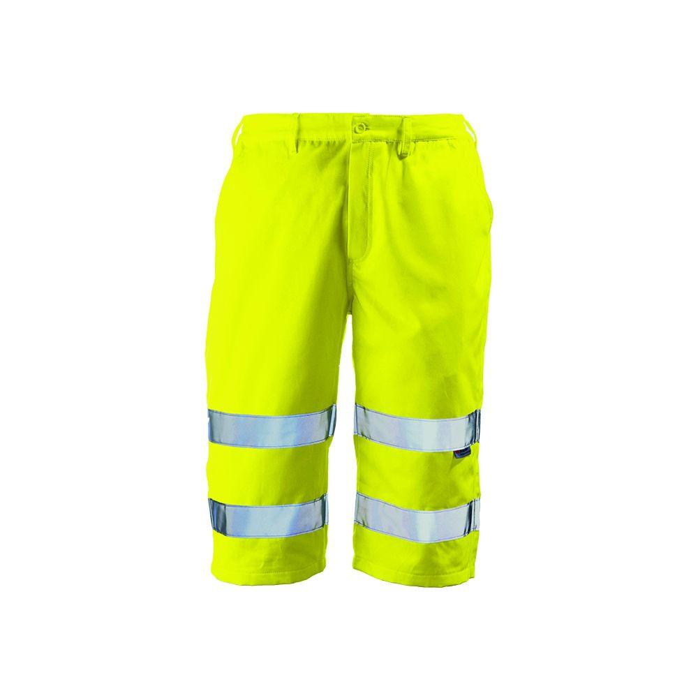 Short haute visibilité Coverguard Patrol jaune