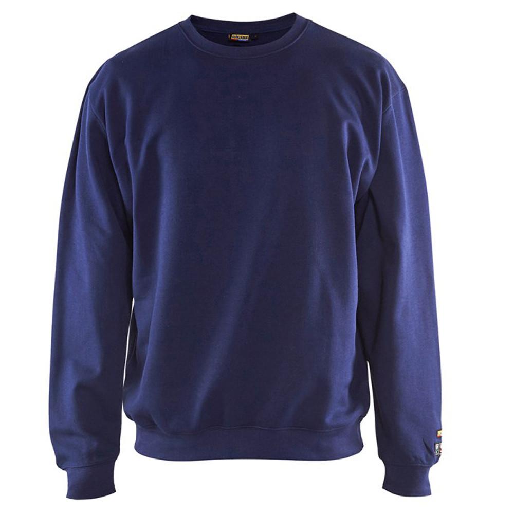 Sweat shirt de travail Blaklader multinormes - Marine
