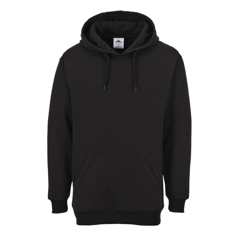 Sweat-shirt à capuche Portwest ROMA - Noir