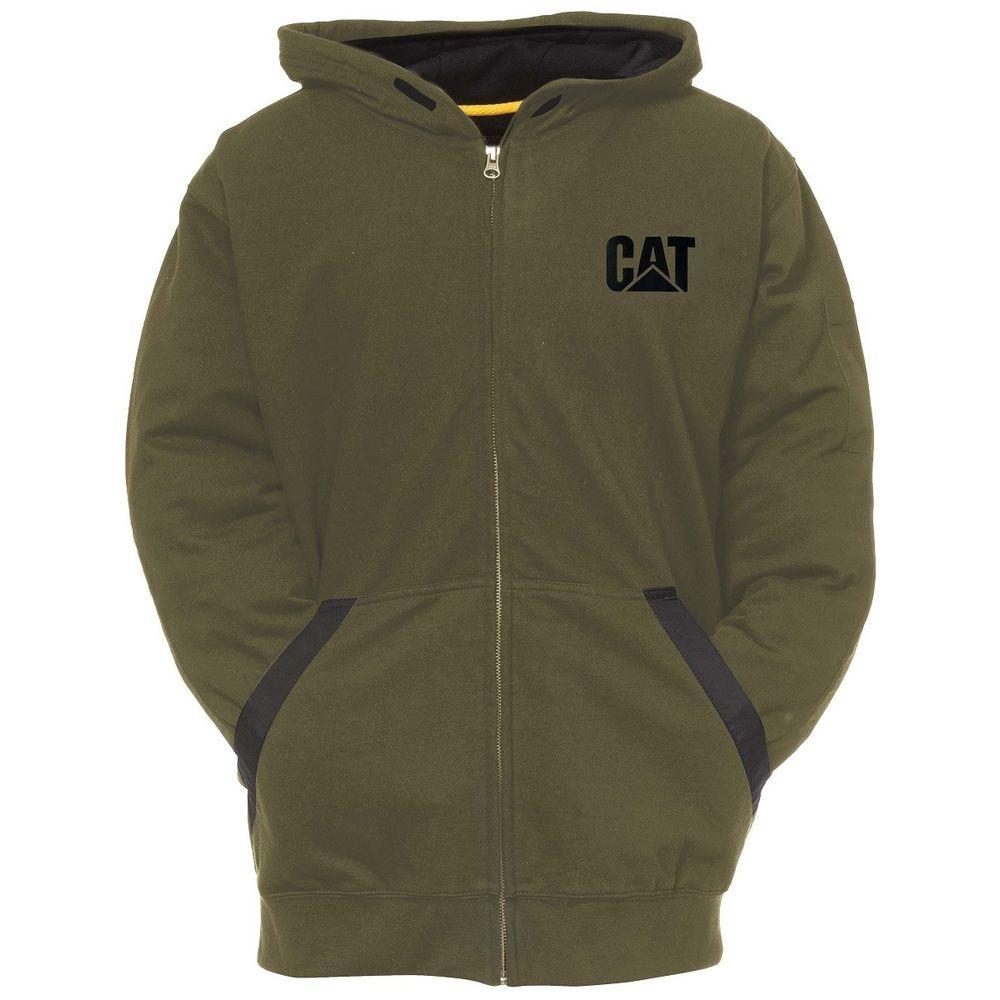 Sweat shirt à capuche zippé Caterpillar Tech Zip