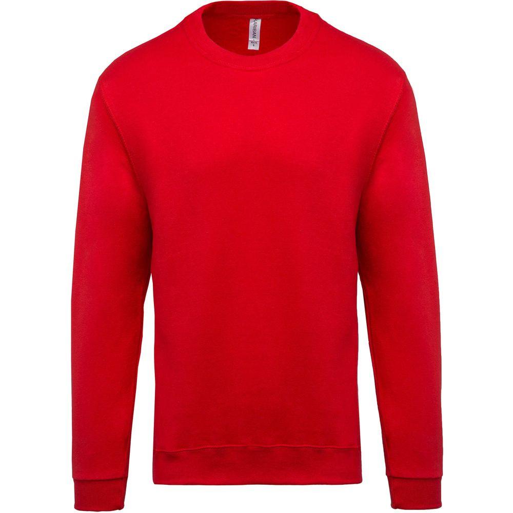 Sweat-shirt col rond Kariban Rouge