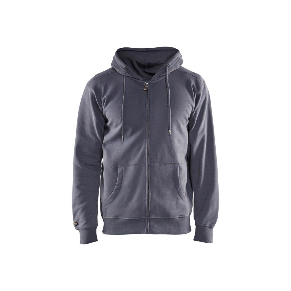 Sweat shirt de travail à capuche Blaklader avec zip central