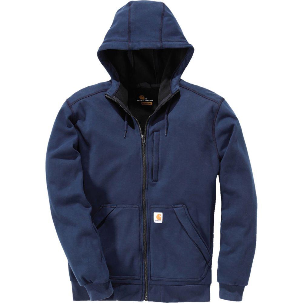 Sweat-shirt zippé à capuche Carhartt Windfighter - Marine