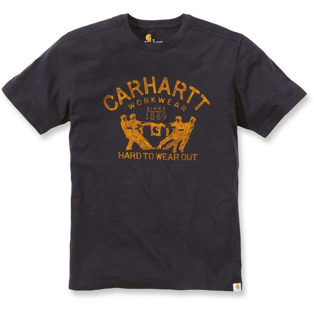T-shirt de travail Carhartt manches courtes 100% coton - Noir