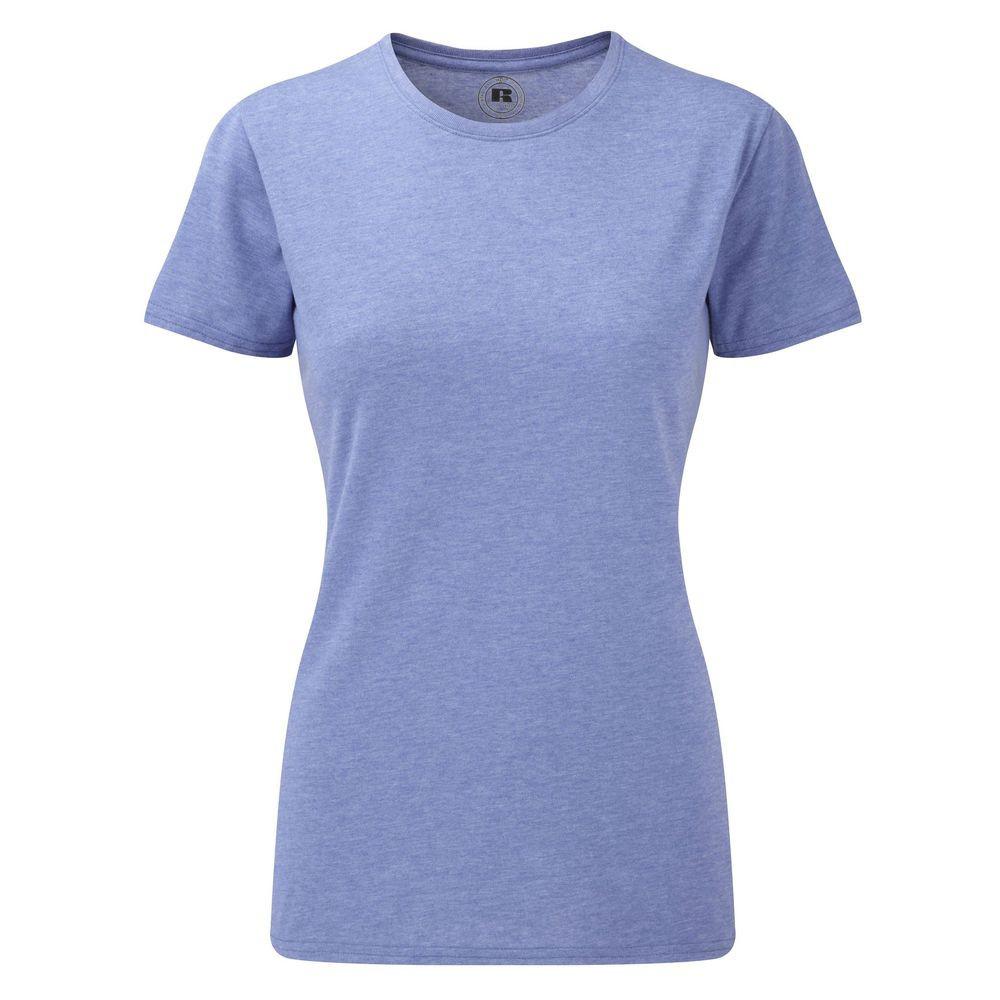 T-shirt de travail HD Polycoton sublimable femme Russell - Bleu