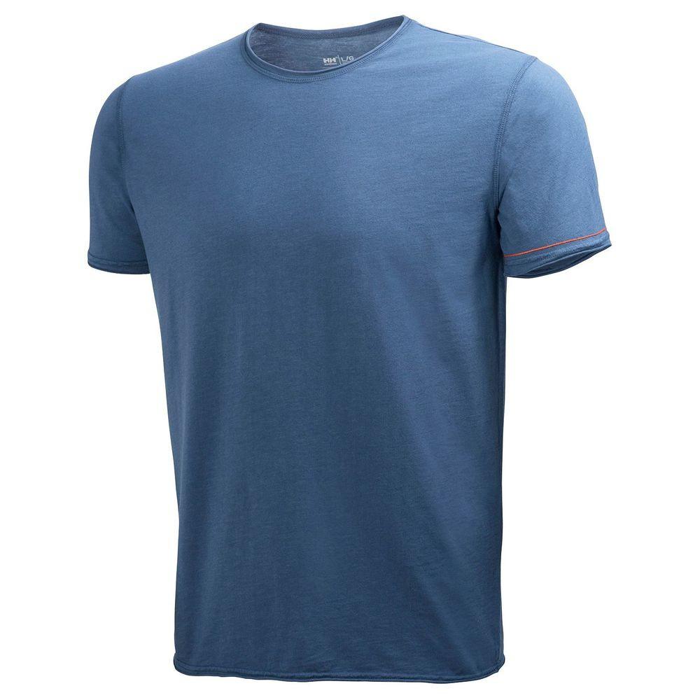 T-shirt de travail MJOLNIR Helly Hansen - Acier Profond