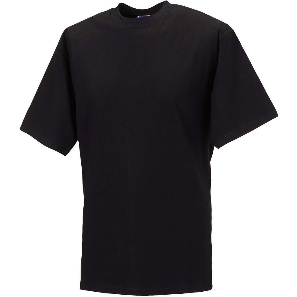 T-shirt de travail Silver Label Russell - Noir