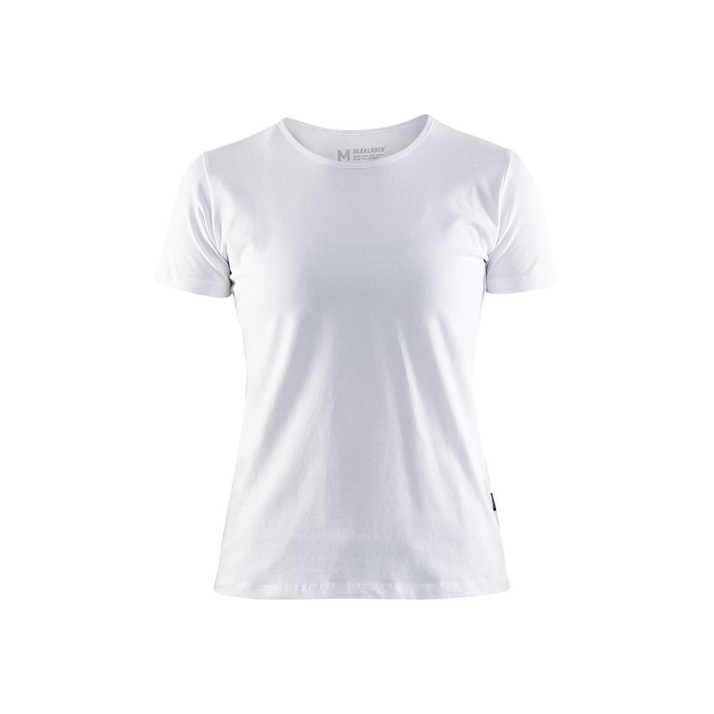 T-shirt femme Blaklader col rond - Blanc