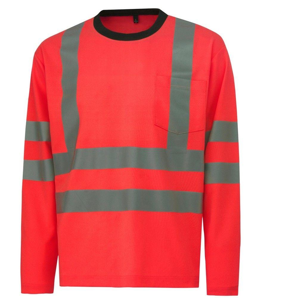T-shirt haute visibilité manches longues KENILWORTH LS Helly Hansen - Rouge