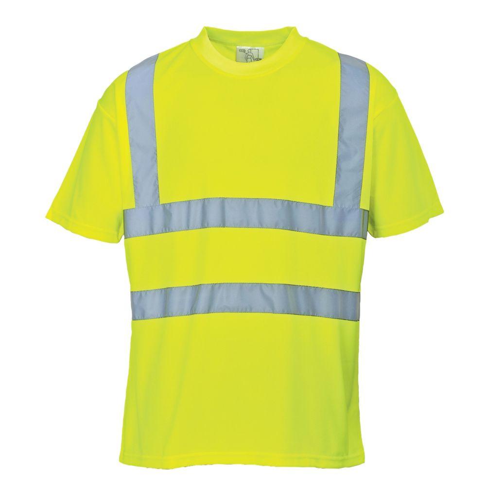T-Shirt haute visibilité Portwest - Jaune