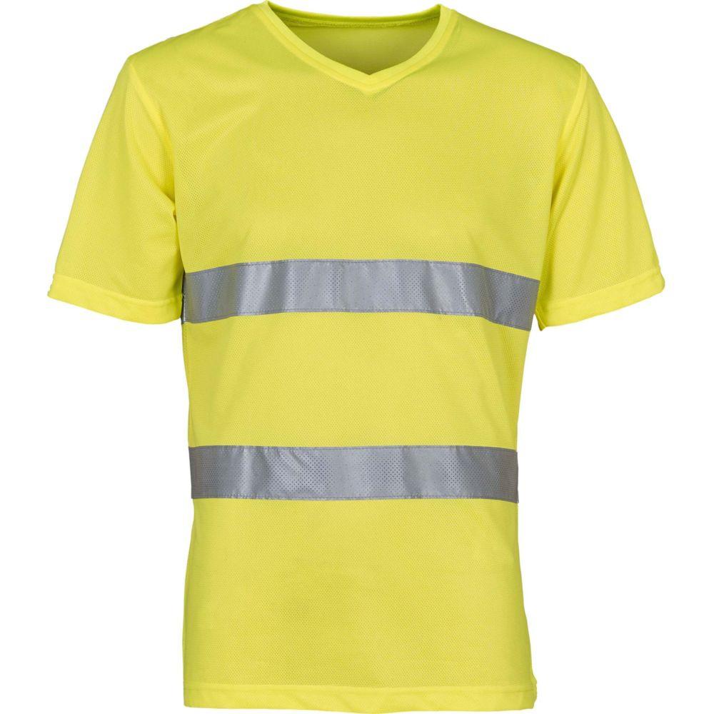 T-shirt haute visibilité Yoko TOP COOL - Jaune
