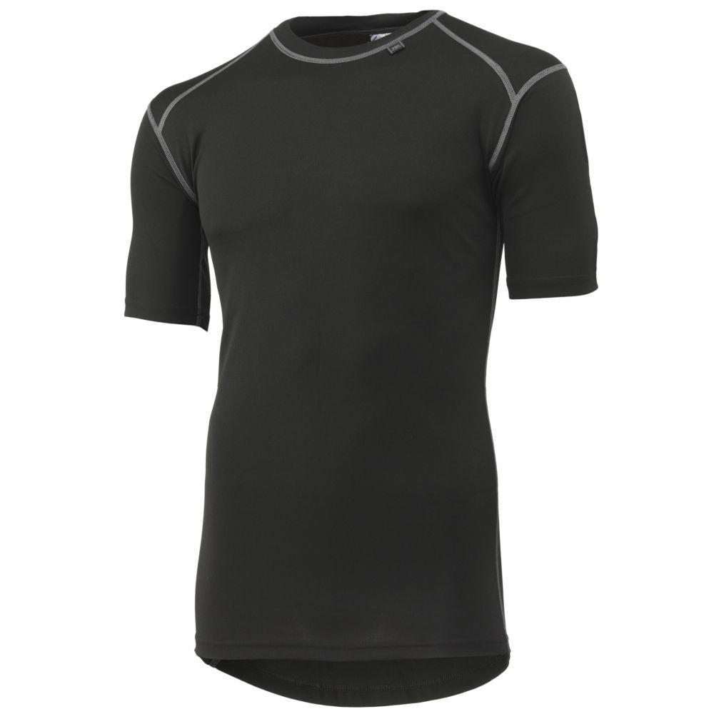 T-shirt thermique Helly Hansen Kastrup - Noir