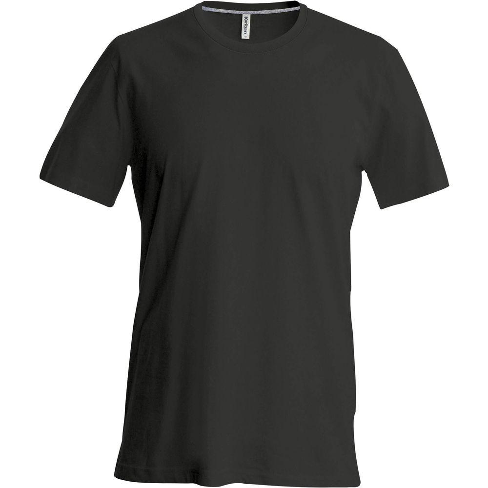T-shirt manches courtes enfant Kariban noir