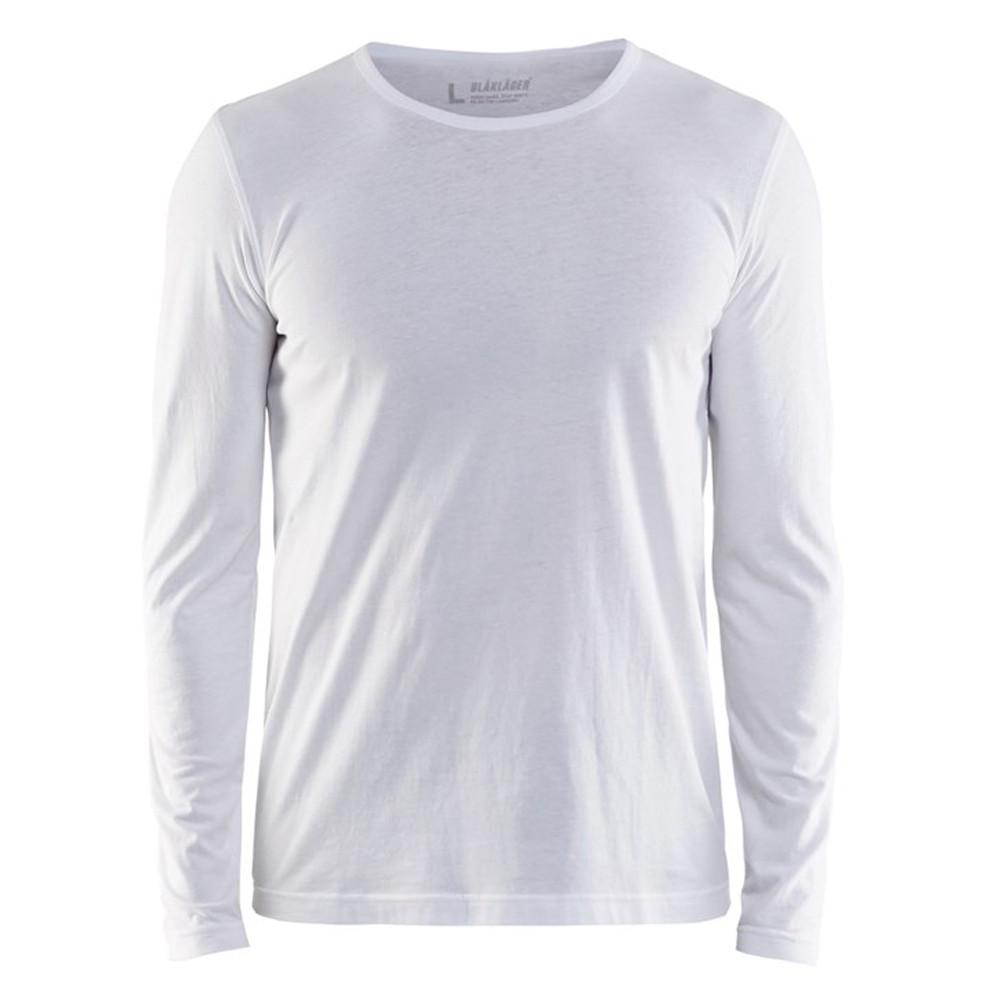 T-shirt de travail Blaklader manches longues - Blanc