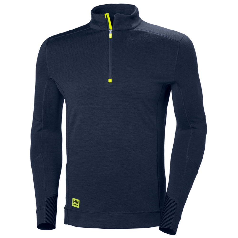 T-shirt manches longues Helly Hansen LIFA HALF ZIP - Navy