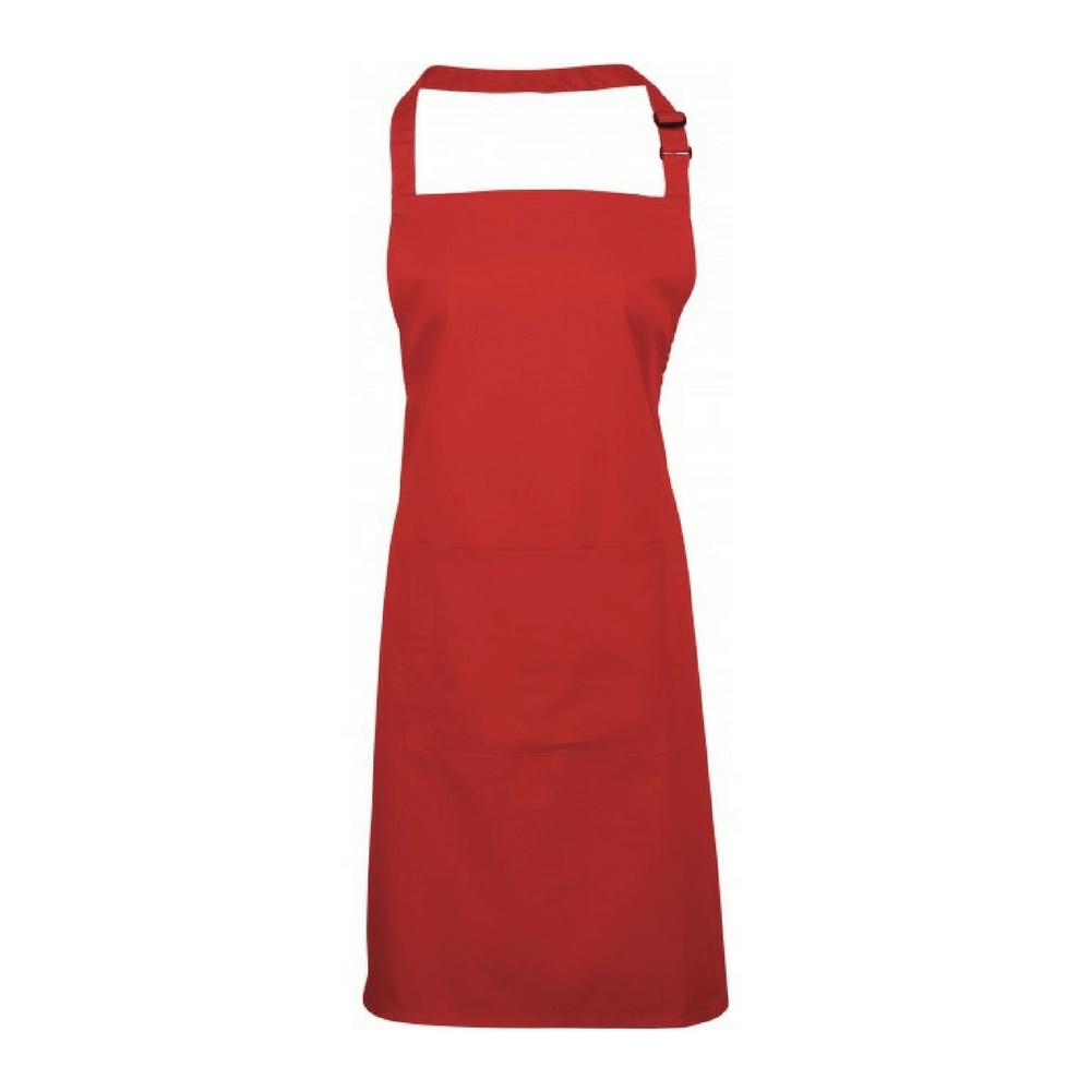 Tablier couleurs avec poche Apron Premier - Rouge