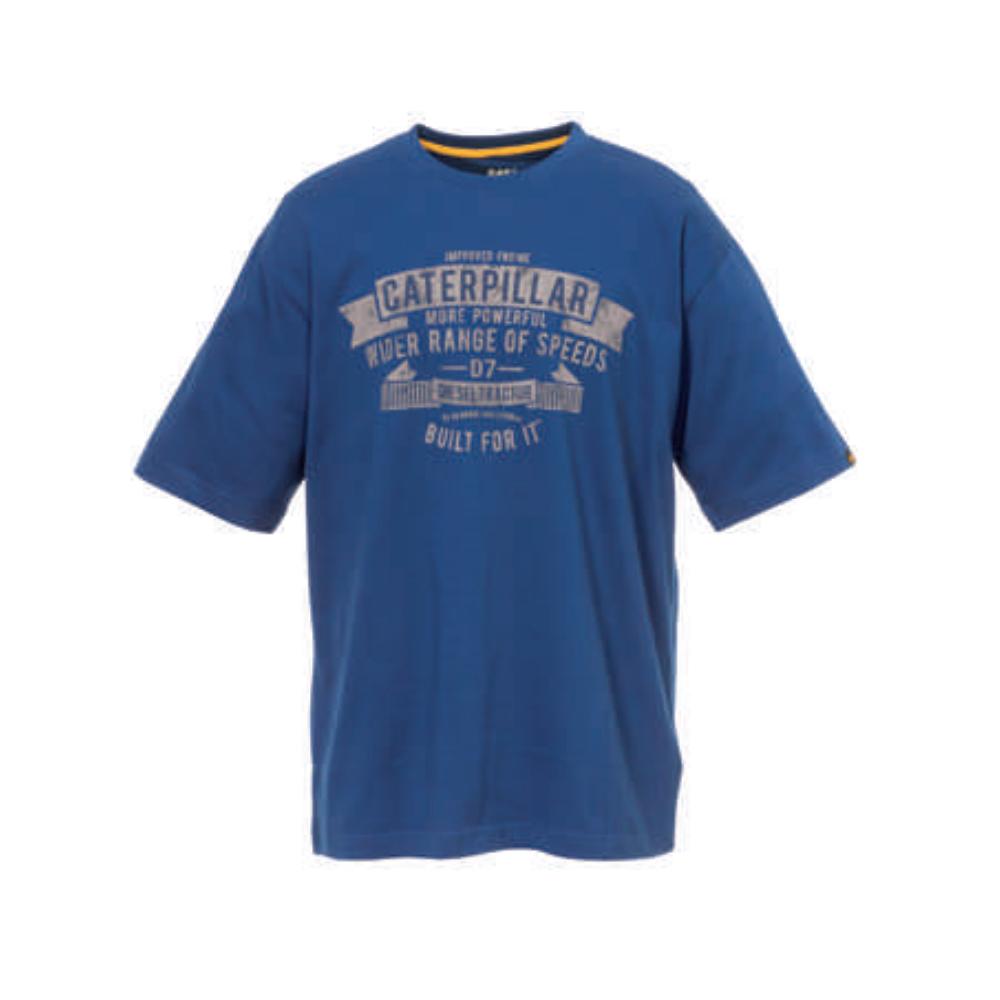Tee-shirt Caterpillar Horse Power 100% Coton