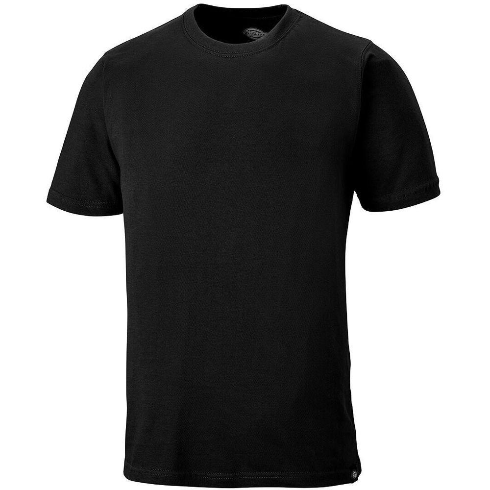 Tee-shirt de travail Dickies 100% coton - Noir
