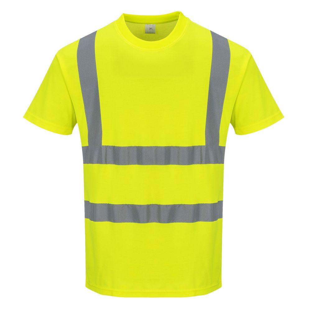 Portwest Tee Shirt Haute visibilit/é MC Coton Comfort