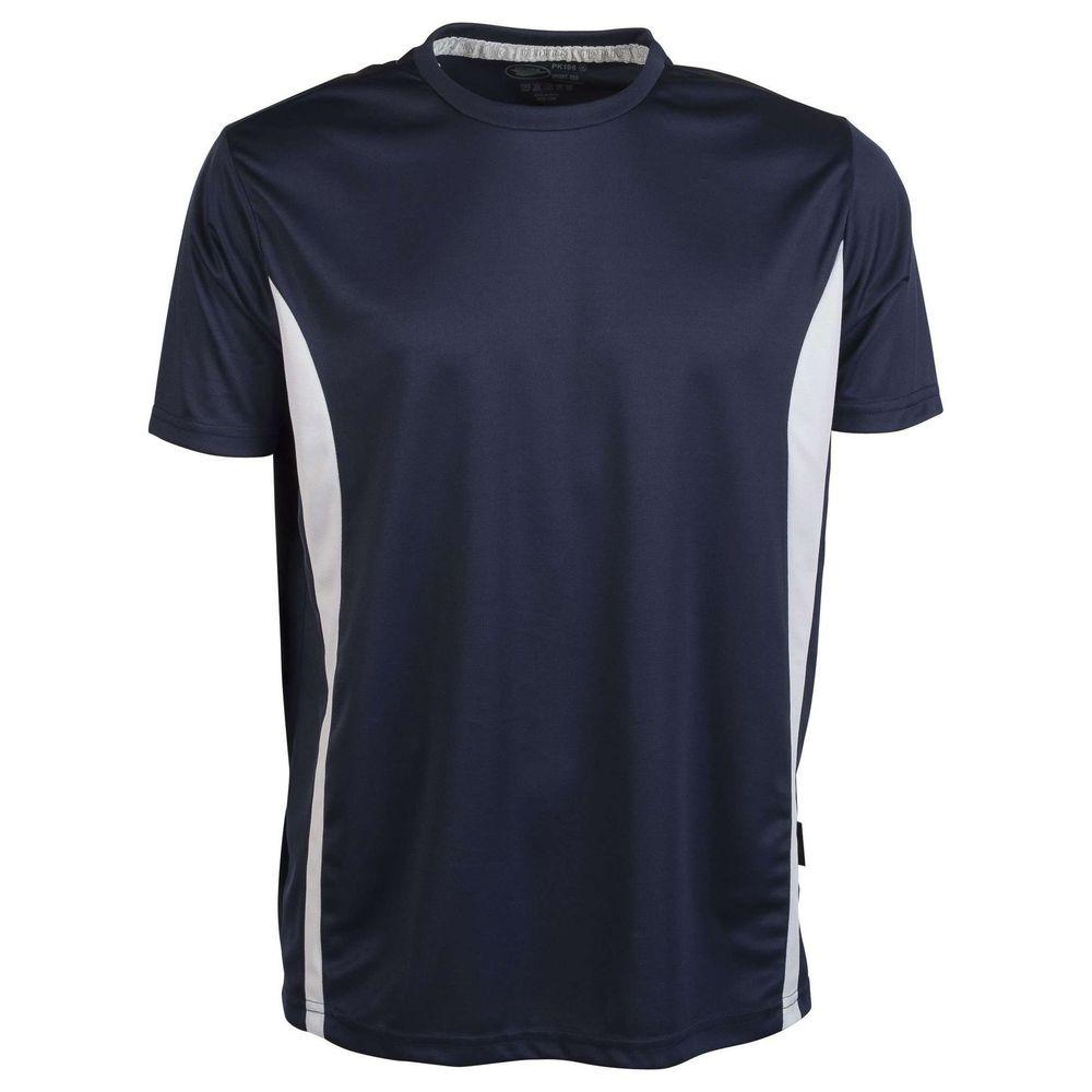 Tee-shirt respirant Penduick Sport Tee - Tee-shirt respirant Penduick Sport tee marine blanc