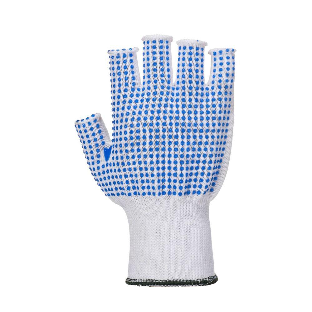 Gants mitaines de manutention Portwest POLKADOT - Bleu / Blanc