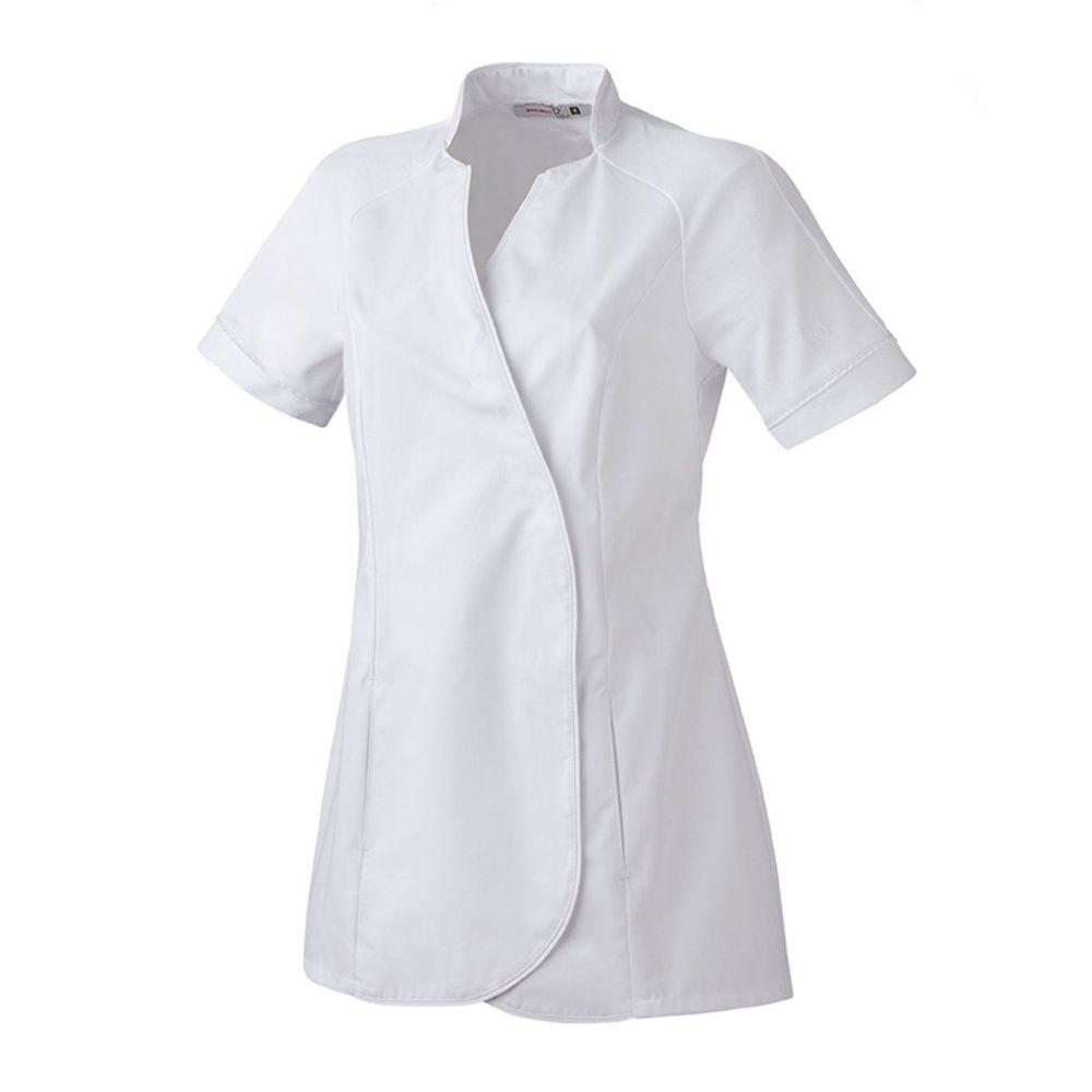 Tunique Médical / Bien Etre manches courtes Femme Robur MAJESTE - Blanc