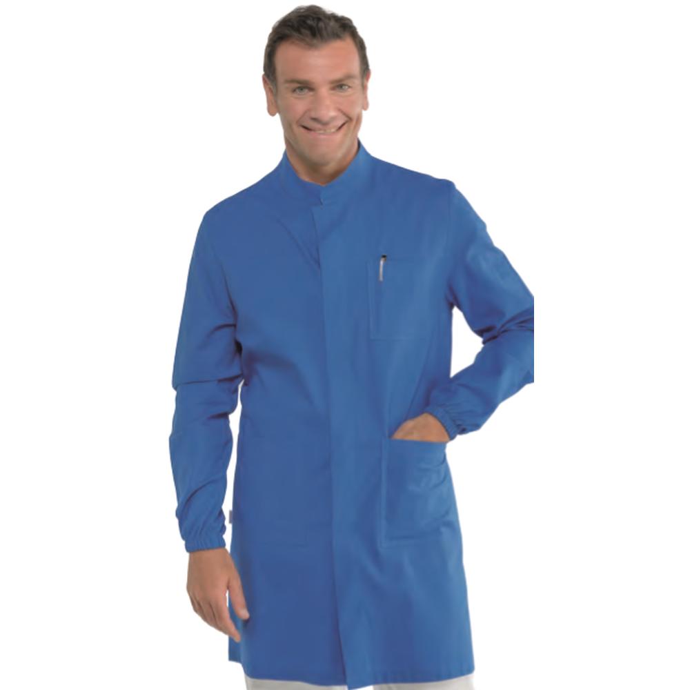 Tunique homme Isacco manches longues Bleue