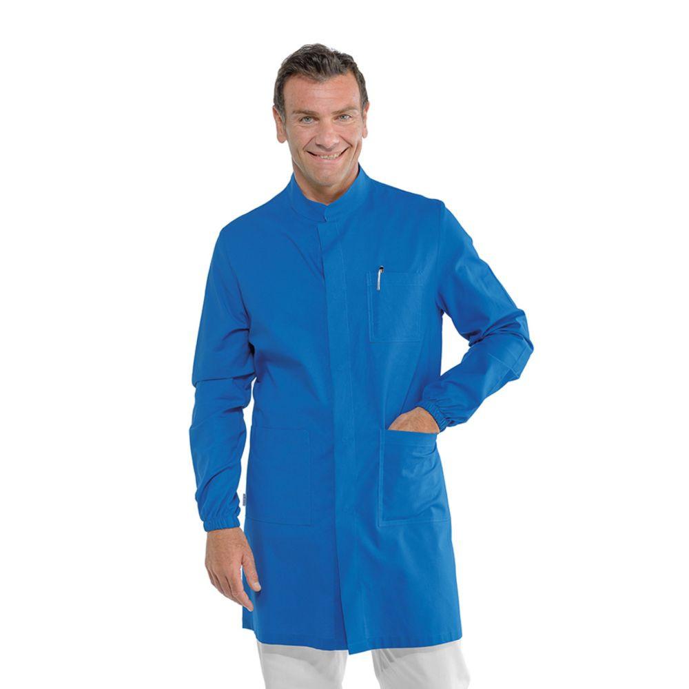 Blouse médicale homme Isacco Dover Bleue - Bleu