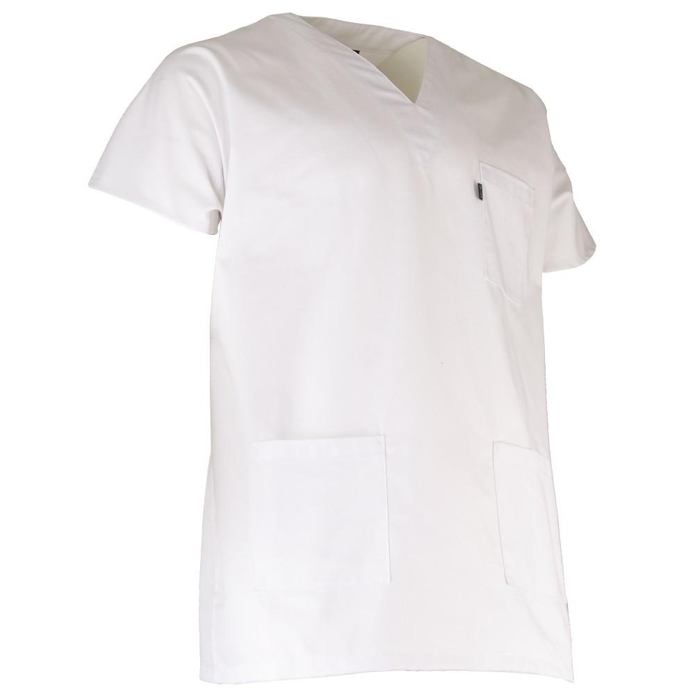 Tunique médicale blanche LMA BISTOURI - Blanc