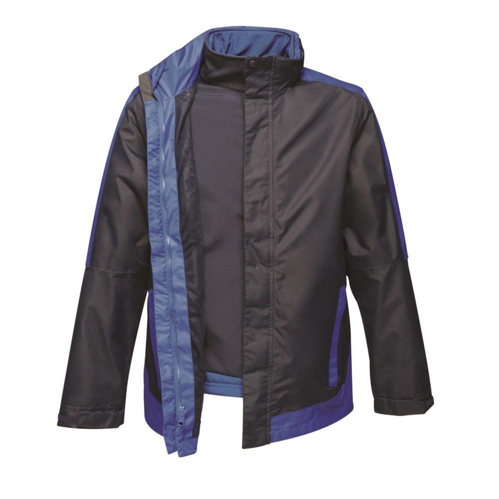 Veste 3 en 1 intérieur Softshell Regatta Professional CONTRAST - Marine / bleu royal