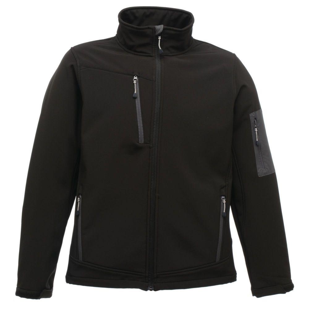 Veste à membrane 3 couches Softshell Regatta Professional ARCOLA - Noir / gris