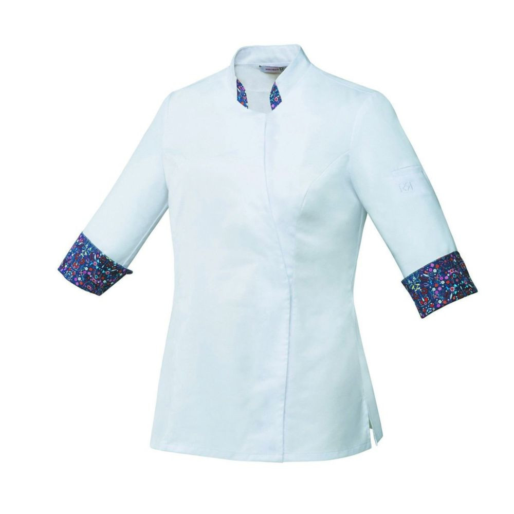 Veste de cuisine stretch Femme Robur VUSTI - Blanc