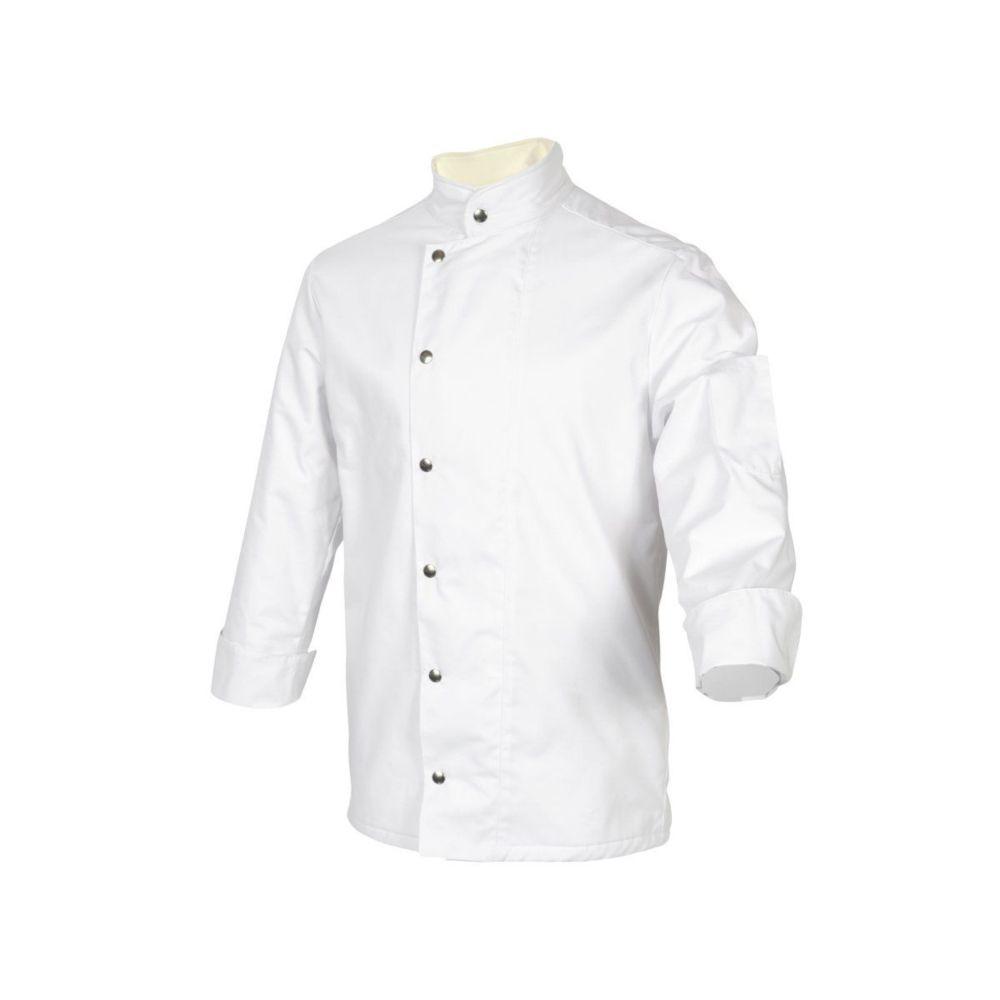 Veste de cuisine doublée anti froid Robur MOSCOU - Blanc