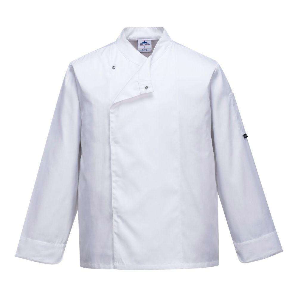 Veste cuisine ventilée Portwest - Blanc