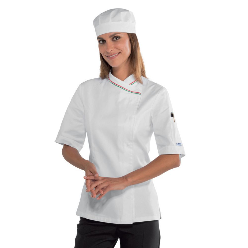 Veste de cuisine femme Isacco